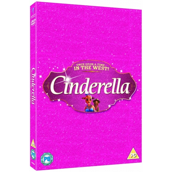 Cinderella Once Upon A Time In The West! DVD