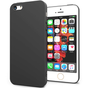 Apple iPhone SE TPU Silicone Gel - Solid Black Matte