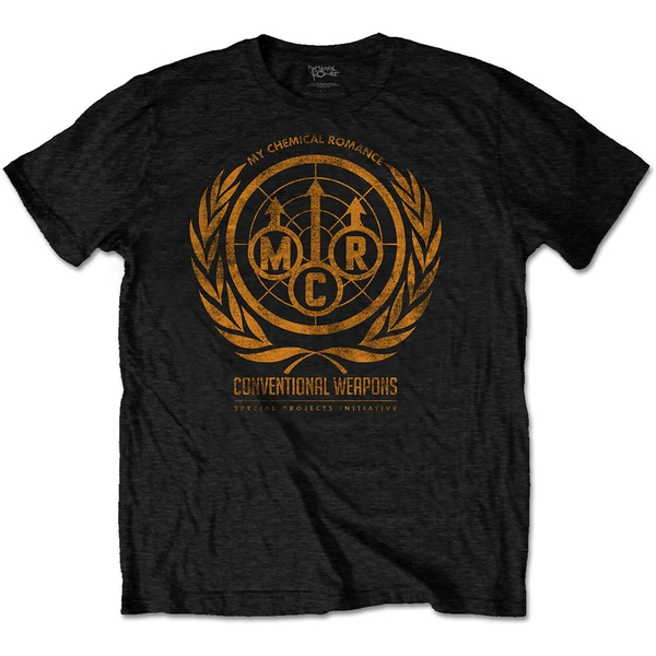 My Chemical Romance - Conventional Weapons Unisex Large T-Shirt - Black