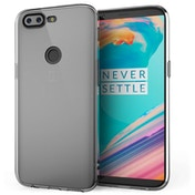 OnePlus 5T Ultra Slim TPU Gel With Inner Dots - Clear