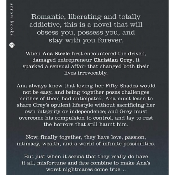 Fifty Shades Freed Audio Book CD - Image 2