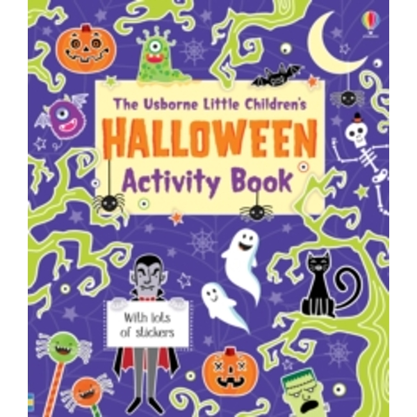 Little Children's Halloween Activity Book