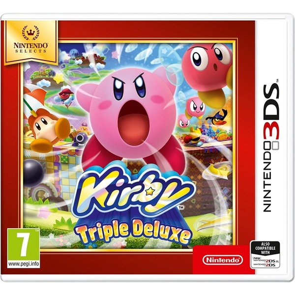 Kirby Triple Deluxe Game 3DS (Selects) - Image 1