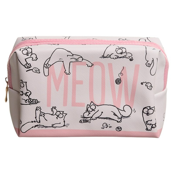 Simon's Cat Handy PVC Make Up Toilet Wash Bag
