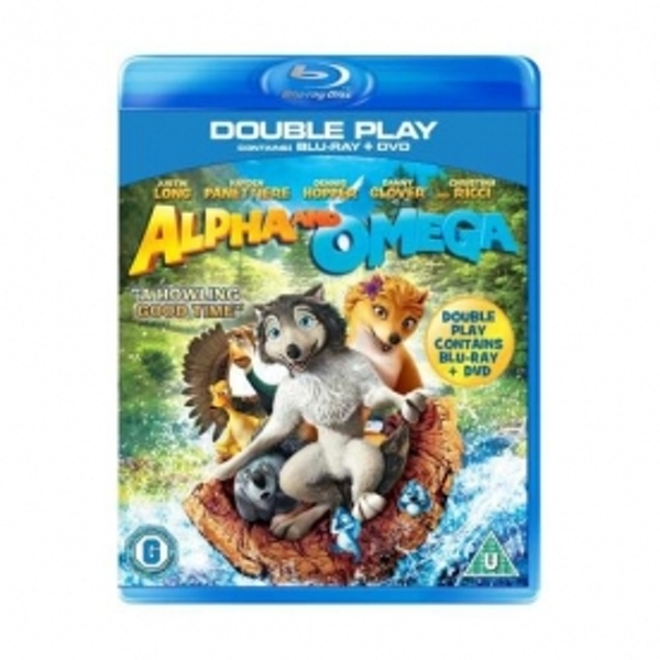Alpha And Omega Double Play Blu-Ray + DVD