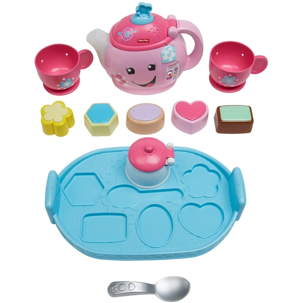 Fisher-Price Laugh & Learn Sweet Manners Tea Playset - Image 1