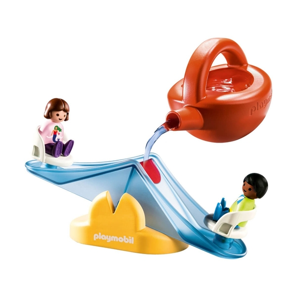 Playmobil Water Seesaw with Watering Can Playset