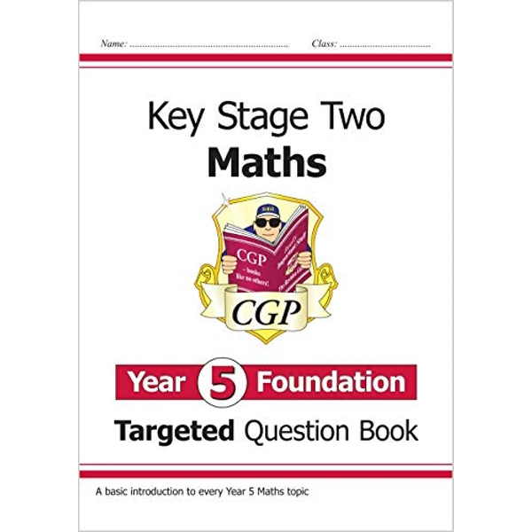 New KS2 Maths Targeted Question Book: Year 5 Foundation  Paperback / softback 2018