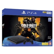 PlayStation 4 (500GB) Black Console with Call of Duty Black Ops 4