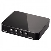 Hama HDMI Changeover Switch G-410 4 To 1 Black 00083186