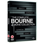 The Complete Bourne 4 Movie Collection DVD