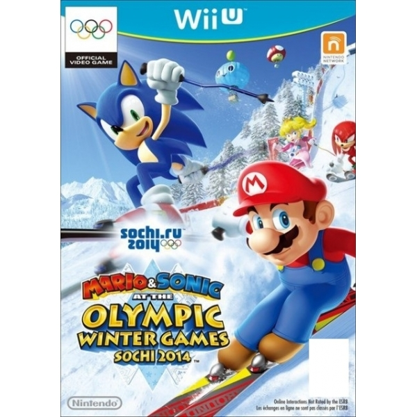 Mario & and  Sonic At The Sochi 2014 Winter Olympic Games Wii U
