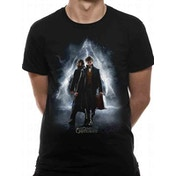 Crimes Of Grindelwald - Movie Poster Men's Medium T-Shirt - Black