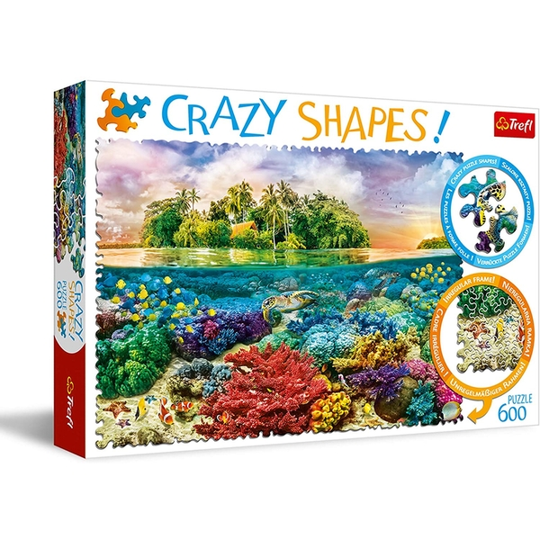 Tropical Island Jigsaw Puzzle - 600 Pieces