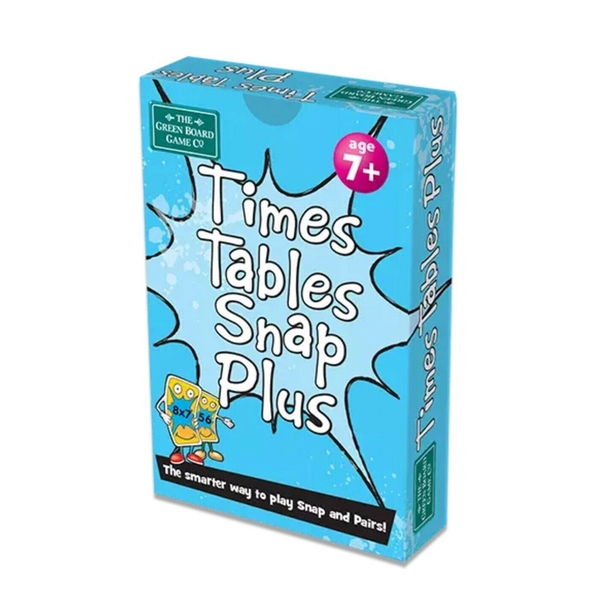 Times Tables Plus Snap Card Game