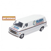 Anchorman Channel 4 KVWN San Diego Dodge Van Die-Cast Vehicle
