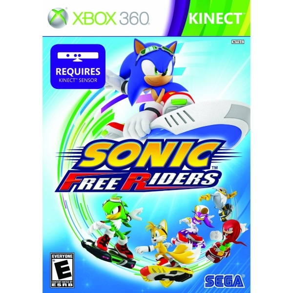 Kinect Sonic Free Riders Game Xbox 360 (#)