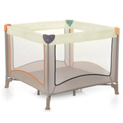 Hauck Dream and Care Play Square Travel Cot (Beige)