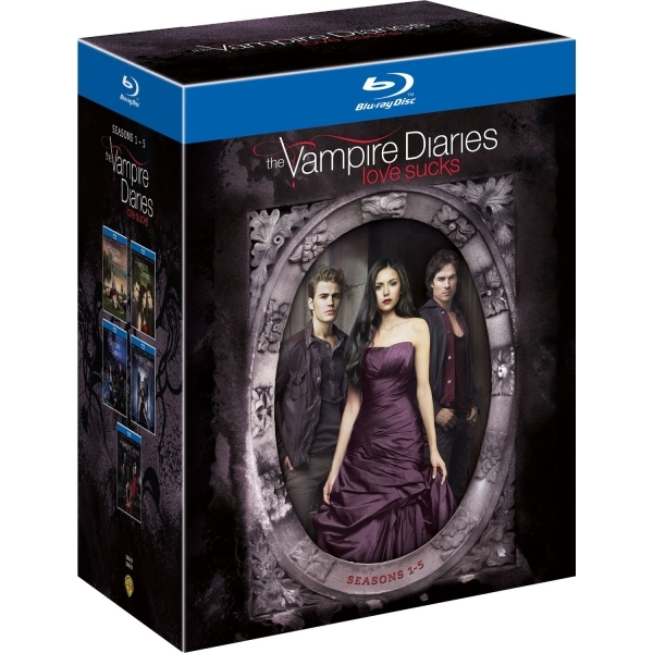 The Vampire Diaries  Season 1-5 Blu-ray