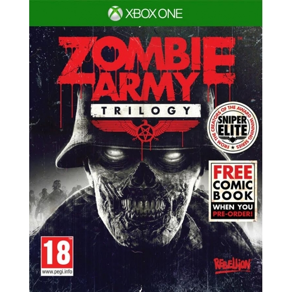 Zombie Army Trilogy Xbox One Game (with Exclusive Zombie Army Comic)