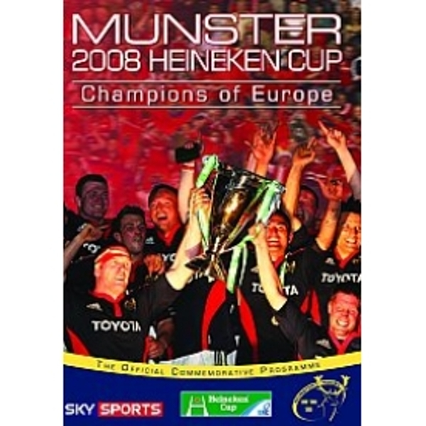 Munster Champions Of Europe 2008 DVD