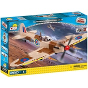 Cobi Small Army World War II Supermarine Spitfire MK.IX Plane - 280 Toy Building Bricks