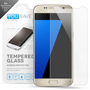 YouSave Accessories Samsung Galaxy S7 Glass Screen Protector - Clear