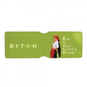 X-Rated (B.I.T.C.H)* Travel Pass Card Holder