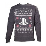 Sony Playstation Mens Logo Small Christmas Jumper