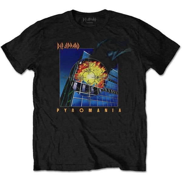 Def Leppard - Pyromania Unisex Medium T-Shirt - Black