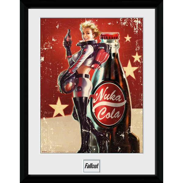Fallout 4 Nuka Cola Collector Print (30 x 40cm) - Image 1