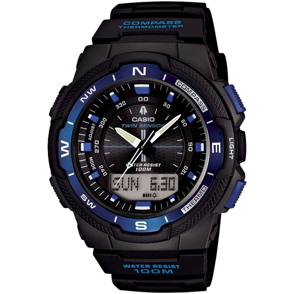 Casio SGW500H-2BV Mens Sports Watch with Analogue and Digital Display