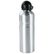 Hama Bicycle Drink Bottle with Holder, aluminium, 750 ml, silver