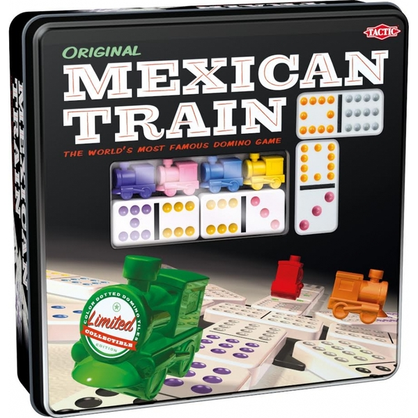 Mexican Train Tin Edition Board Game - Image 1