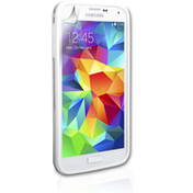 YouSave Accessories Samsung Galaxy S5 Bumper Case - Clear-White