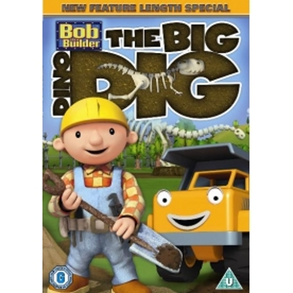 Bob The Builder The Big Dino Dig DVD