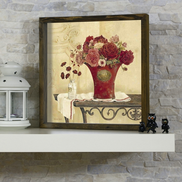 KZM445 Multicolor Decorative Framed MDF Painting