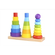 Shape Tower Wooden Activity Toy