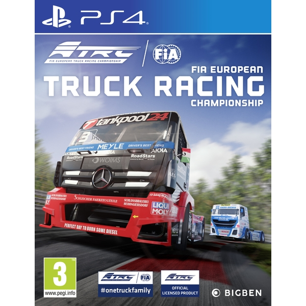 Fia European Truck Racing Championship Ps4 Game 365games Co Uk