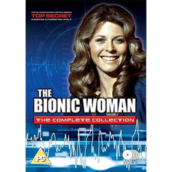 The Bionic Woman - The Complete Collection 18 disc set DVD