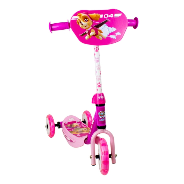 Paw Patrol - Skye Three Wheel Scooter with Adjustable Handlebar