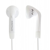 Koss Stealth In-Ear Stereo Headphones compatible with iPod, iPhone, MP3 and Smartphone - White