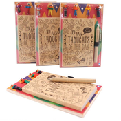 Worry Doll Notepad And Pencil