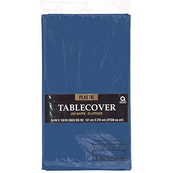 Table Cover Plastic (Navy Blue)