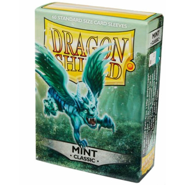 Dragon Shield Mint Classic Card Sleeves - 60 Sleeves