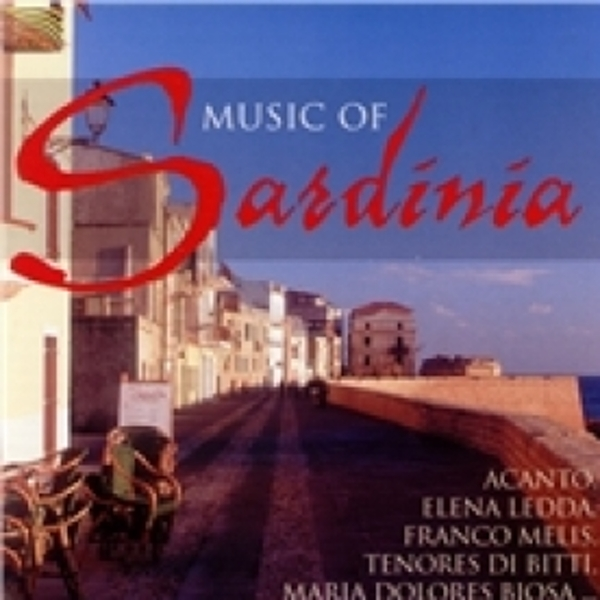 Sardinia Music Of Sardinia CD