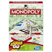 Ex-Display Monopoly Grab and Go Travel Game Used - Like New
