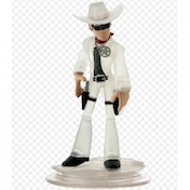 (Damaged packaging) Disney Infinity 1.0 Crystal Lone Ranger Character Figure