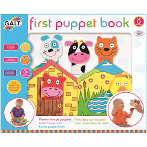 Puppet Book First Years Toy