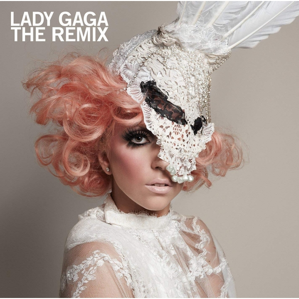 Lady Gaga - The Remix CD